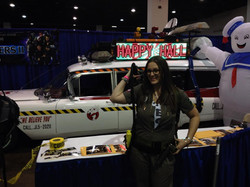 Sam with the Ecto