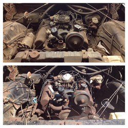 Engine Washed! Before and After!