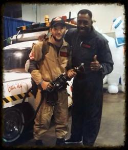 Gianfranco with Ernie Hudson!