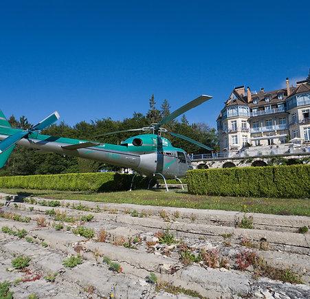 Vol autour du Lac d'Annecy en hélicoptère
