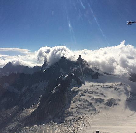 Découverte du Mont-Blanc en hélicoptère