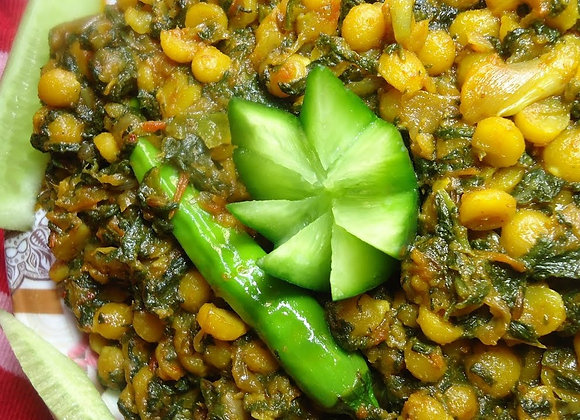 Chana Daal & Spinach Curry