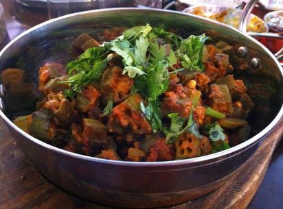 Okra Curry (Bhindi Masala)
