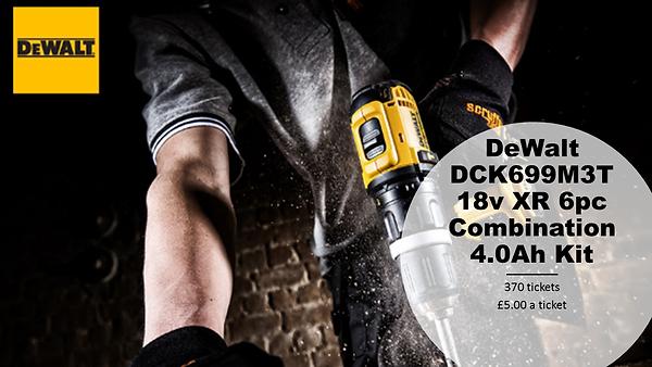 DeWalt DCK699M3T 18v XR 6pc Combination