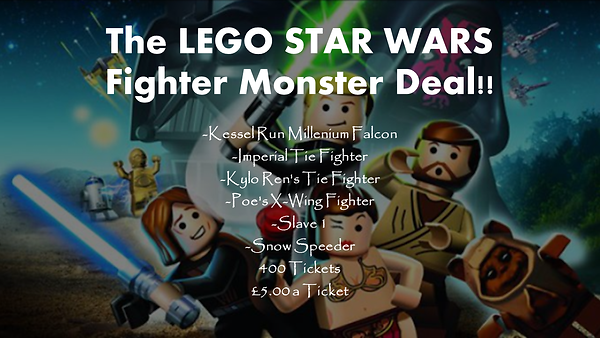 The LEGO STAR WARS Fighter Monster Deal!
