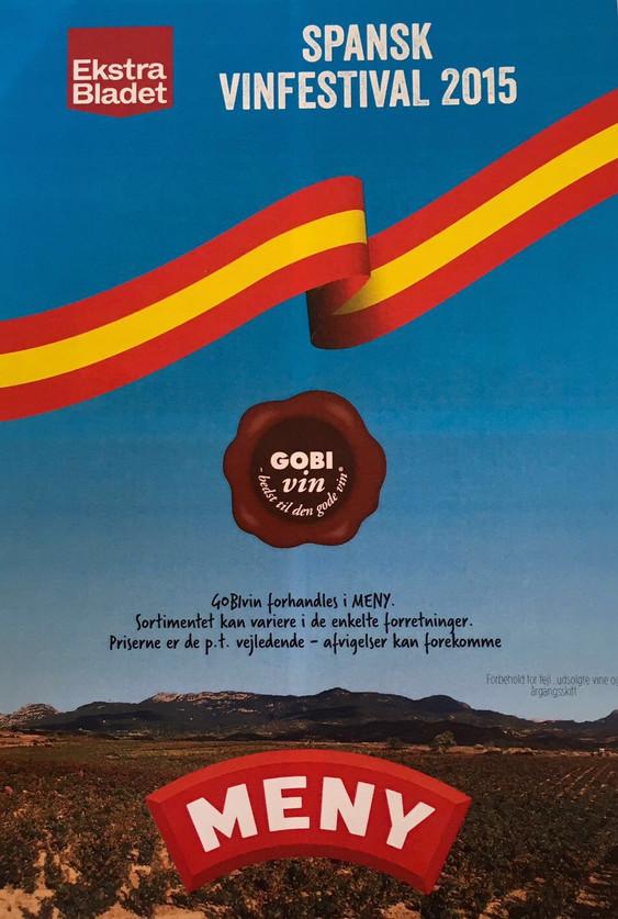 El próximo 25 de Spetiembre estaremos en la Spanish Wine Fair de Dinamarca