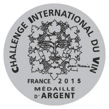 Domblasco obtiene medalla de Plata en el Challenge International du vin 2015