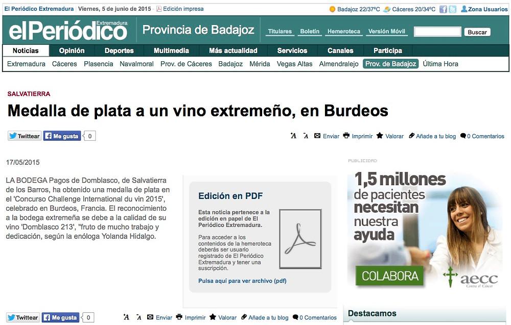 Medalla_de_plata_a_un_vino_extremeño,_en_Burdeos_-_Provincia_de_Badajoz_-_El_Per