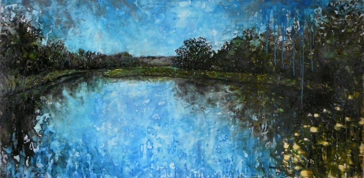 VENDU- Le lac turquoise