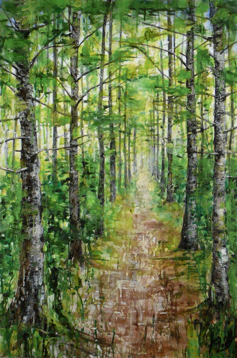 VENDU- La forêt