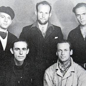 Drie Engelandvaarders en de missie van Bob van der Stok