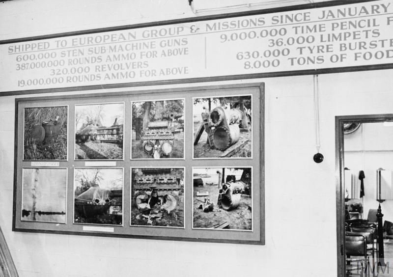 SOE's galerij over explosieven