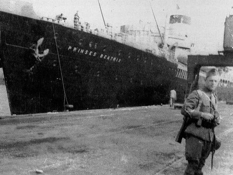 Juni 1940: Jo ter Laak en de wonderbaarlijke zwerftocht van de politietroepen naar Engeland