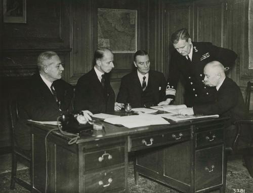 Nederlandse ministers in Londen