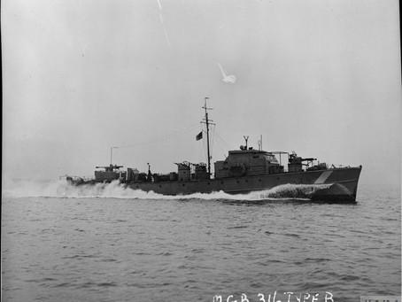 De Motor Gun Boat 320