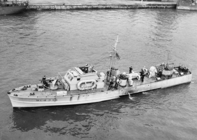 motor gun boat 335