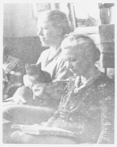 Titia en Dora Gorter