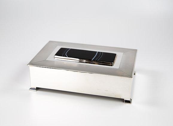 Silver Cigarette Box Mappin & Webb c.1950