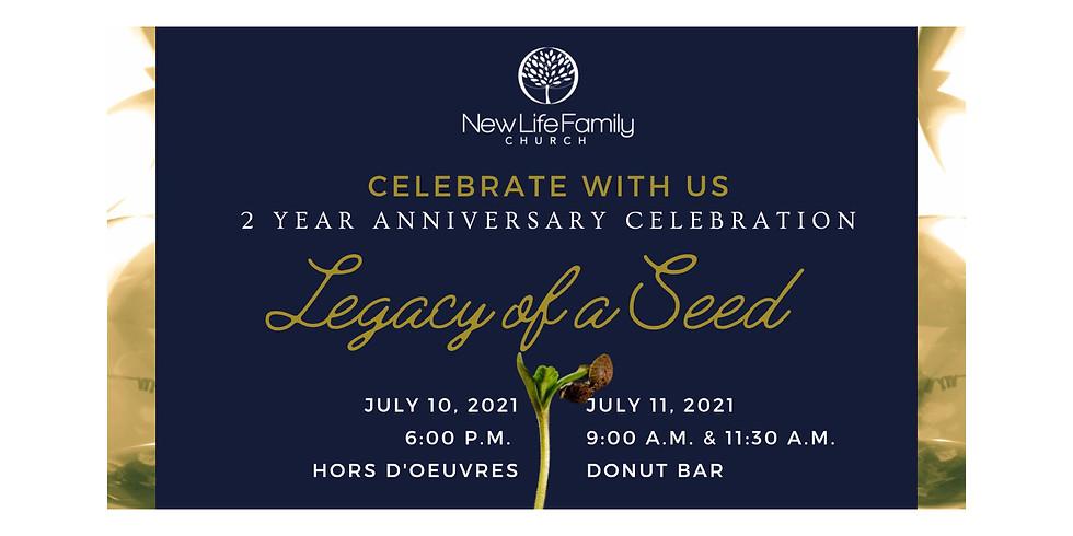 New Life Family Church 2 Year Anniversary