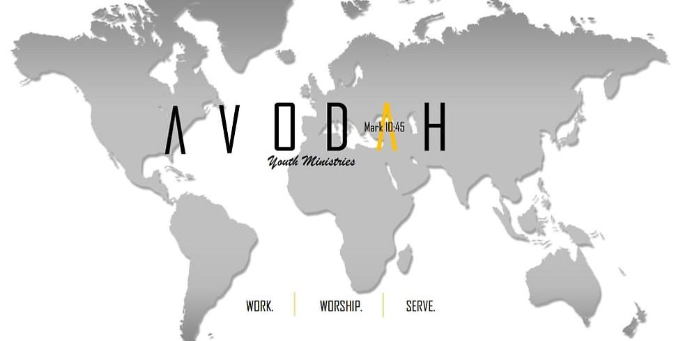 Avodah Youth Lock-In Meeting