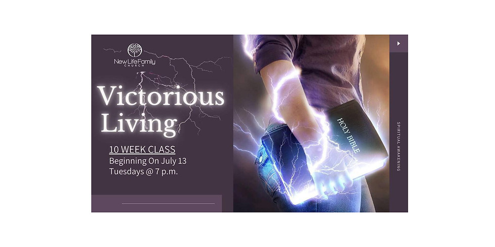 Victorious Living Discipleship