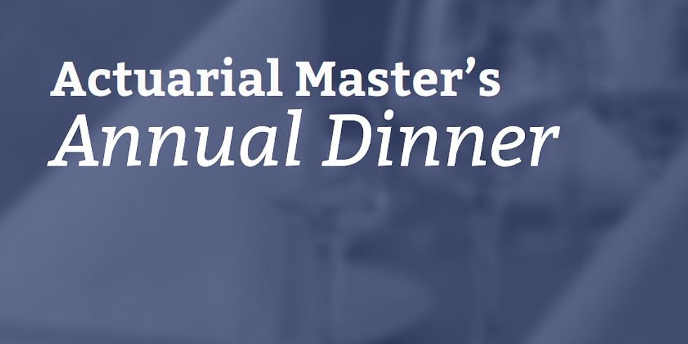 Master's Dinner 2019