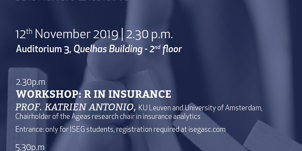 [Workshop] Addicted to De-Risking - Autumn Edition: R in Insurance