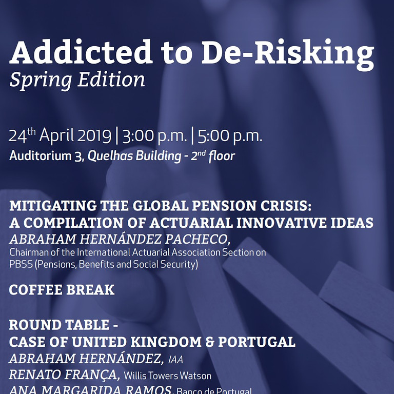 Addicted to De-Risking - Spring Edition: Discussing Alternatives to Solve the Pension Crisis