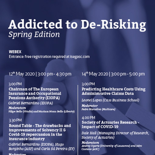 [Webinar] Addicted to De-Risking- Spring Edition (2nd day)