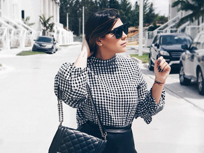 Trends - Blanco, negro, cuadros.