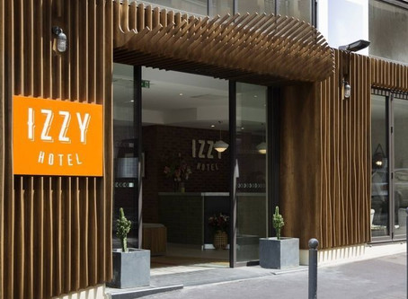 L'hôtel IZZY by HappyCulture accueille des soignants.