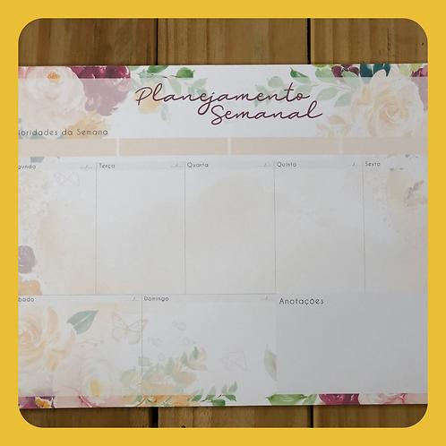 Desk Planner Semanal