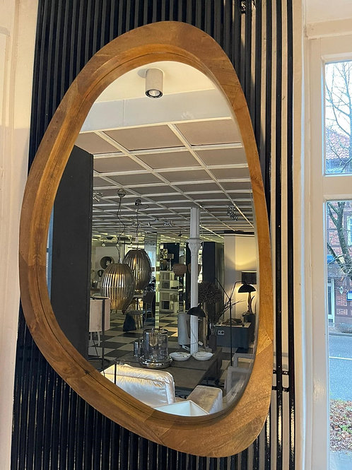Spiegel, Holzeinrahmung 80x120 cm