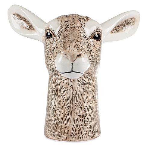 Vase Antilope Kopf 23 cm, Keramik