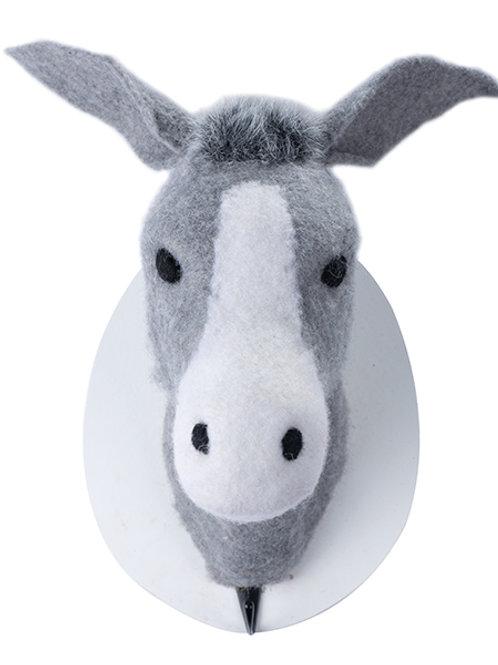 Wandhaken Esel 21 cm
