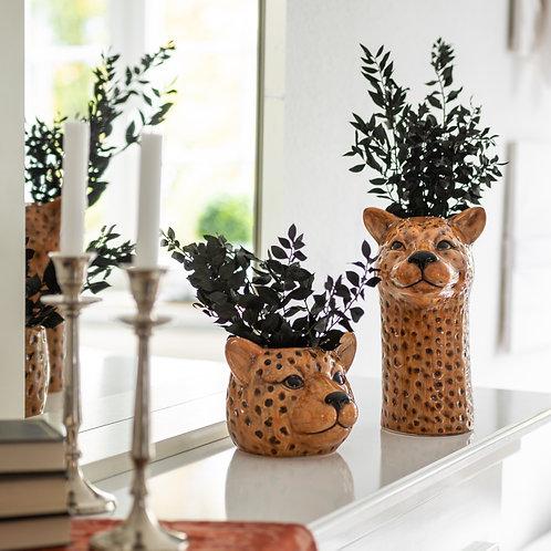 Vase Leopard 25 cm Keramik