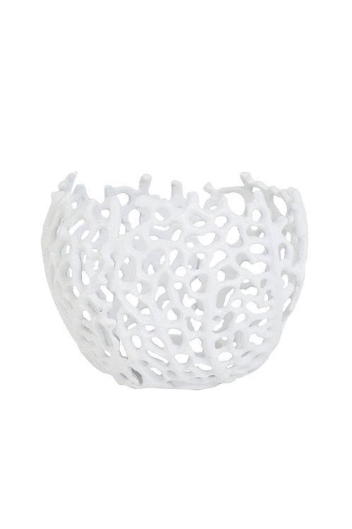 Teelicht Ø12x10 cm SABELA weiß Light & Living