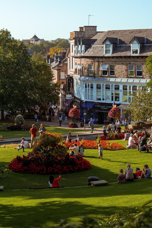 Harrogate town centre, North Yorkshire