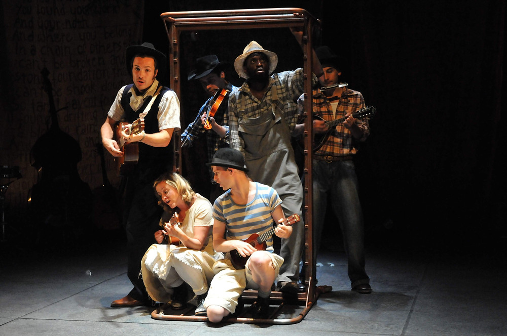 This Land,The Story of Woody Guthrie, Interplay, Leeds