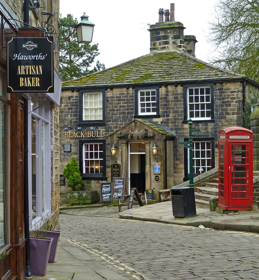 Haworth local pub and bakers