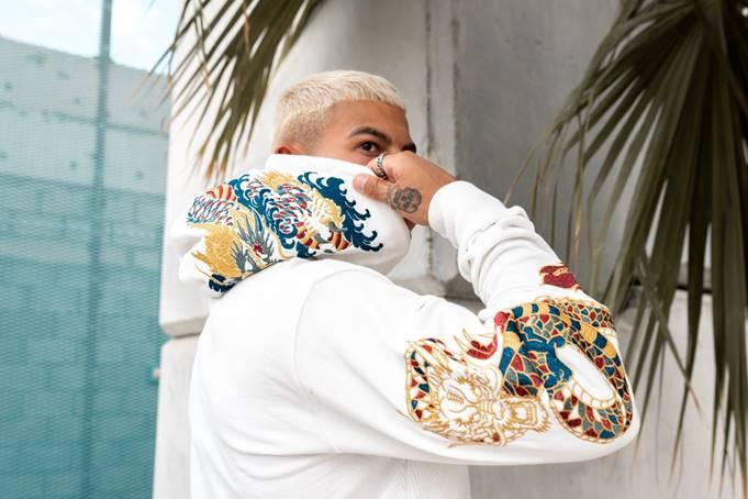 Graphic hoodie, loungewear fashion