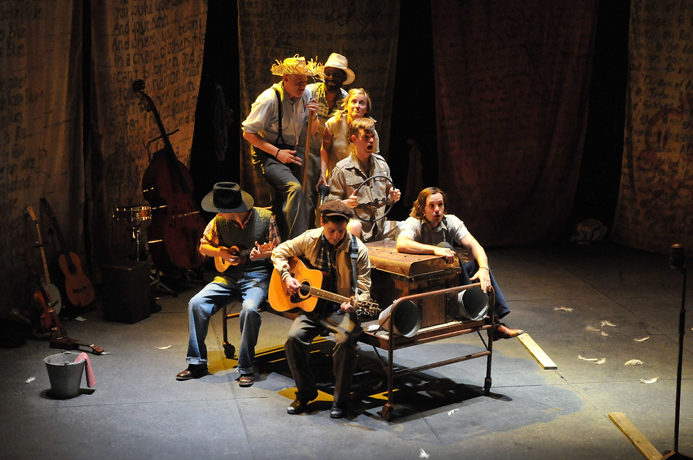 This Land , The Story of Woody Guthrie, Leeds 2021
