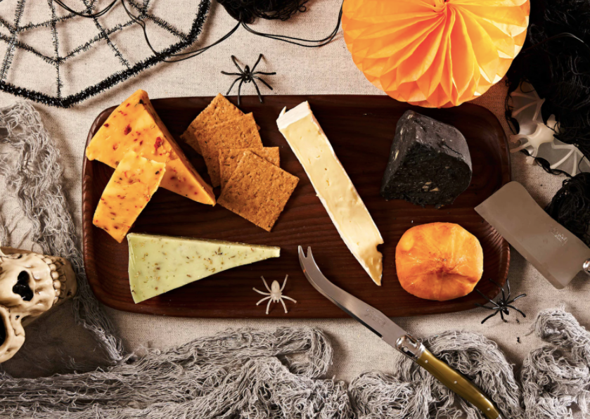 Homage2Fromage Halloween cheese selection