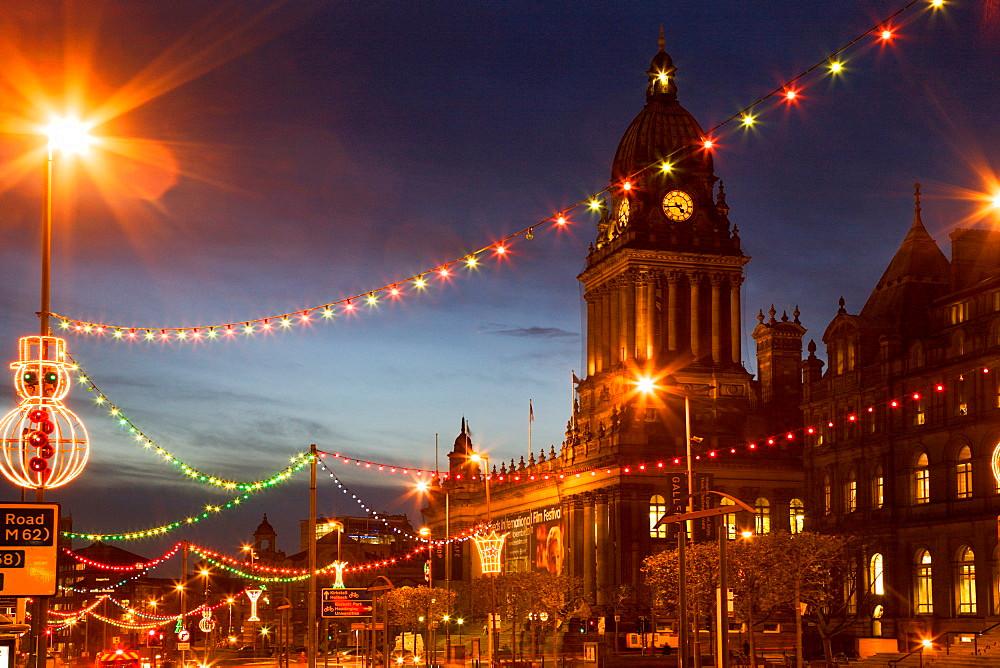 Leeds Christmas lights switch-on 2020