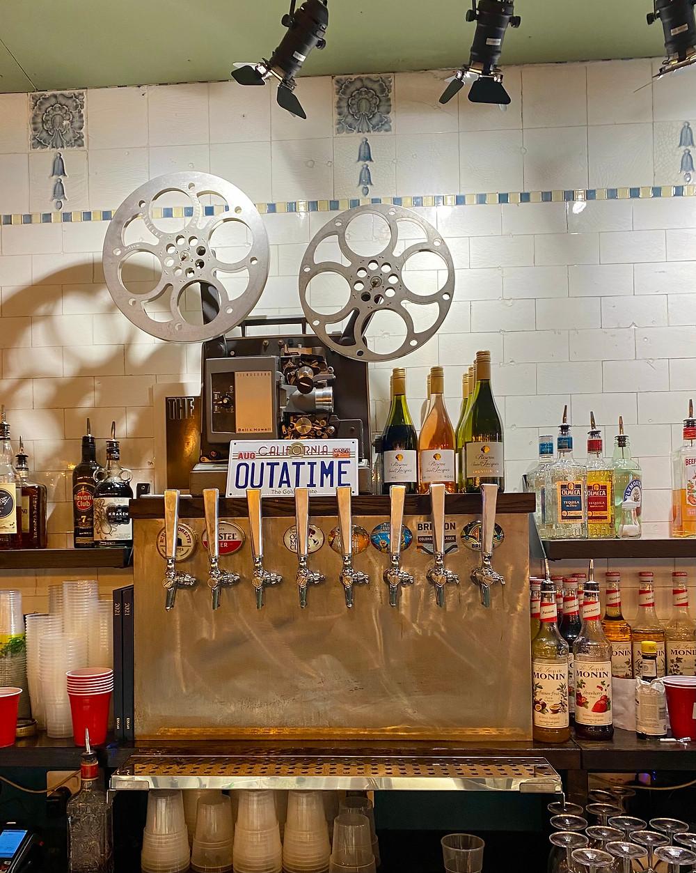 Grindhouse Bar, Leeds, interior