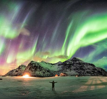 Where in the world can you see the northern lights?
