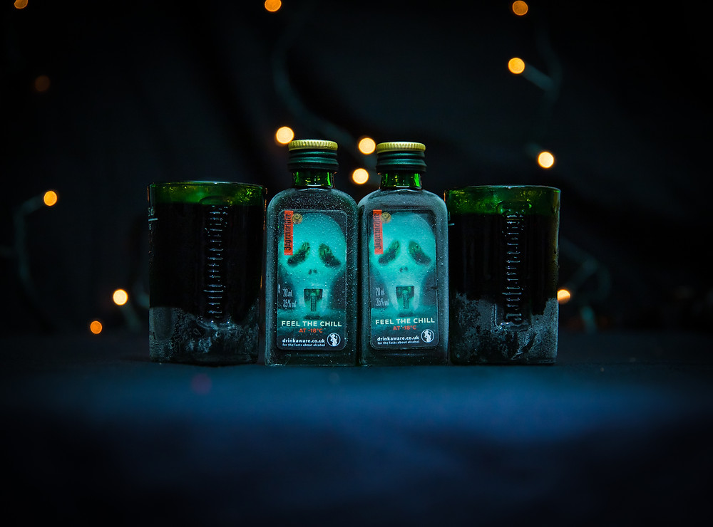 Jägermeister sampling with Deliveroo
