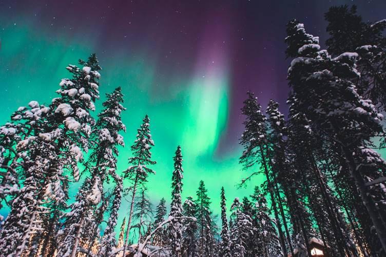 Northern Lights in Abisko National Park, Sweden