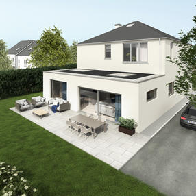 Open Plan Home Extension, Cork (Architecture & Interior Design)