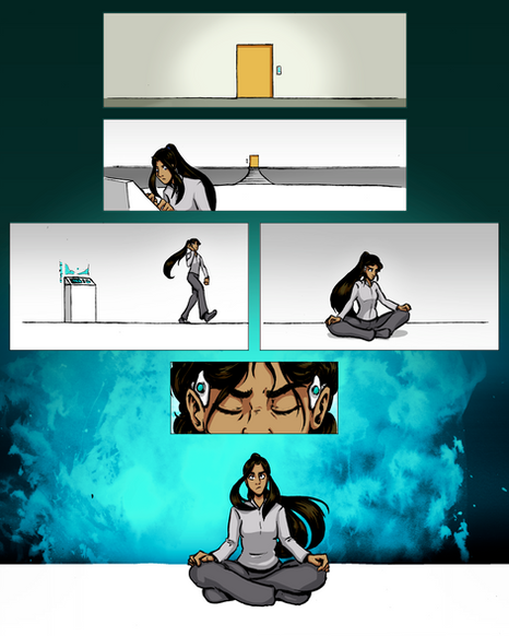 The Phoenix Corps, Page 14, Color